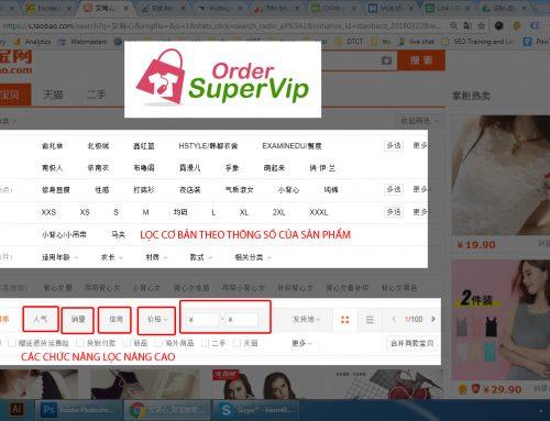 Hướng dẫn tìm kiếm sản phẩm taobao